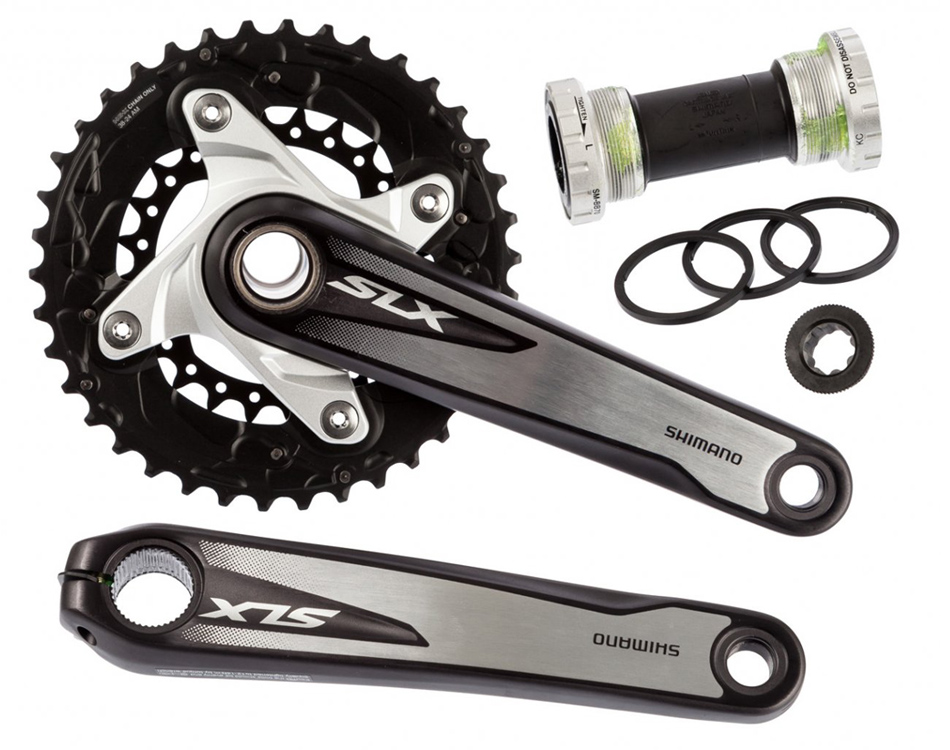 Shimano SLX M675 2x10 vitesse vélo vélo vtt pédalier 175mm 38-26 T avec BB52