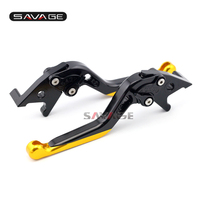 For SUZUKI UH125 UH150 UH200 AN250 AN400 Burgman Motorcycle CNC Aluminum Extendable Front Rear Brake Lever