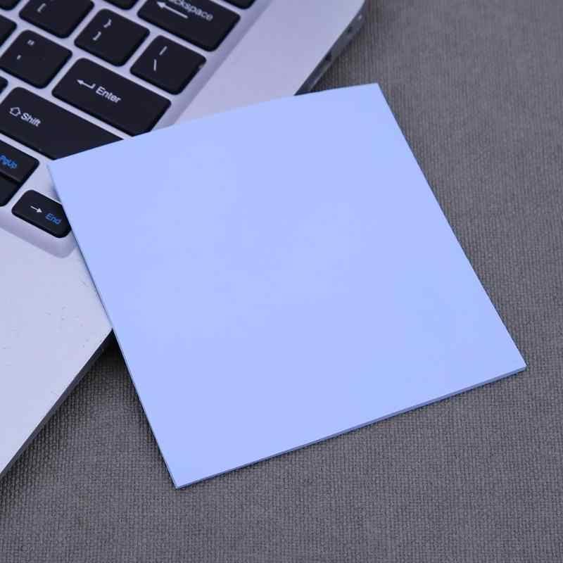 100x100mm Silicone Nhiệt Miếng Lót Tấm Máy Tính CPU Chip đồ họa Tản Nhiệt
