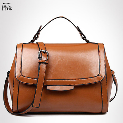 XIYUAN BRAND LUXURY NEW PU Leather Women RED Shoulder crossbody Bag Brand Designer lady black handbags handbag brown messenger