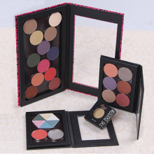 Magnetic Eyeshadow Palette,Pink Leopard,Crocodile Private Label Black Blank Pattern,Professional Naked Makeup Stroage