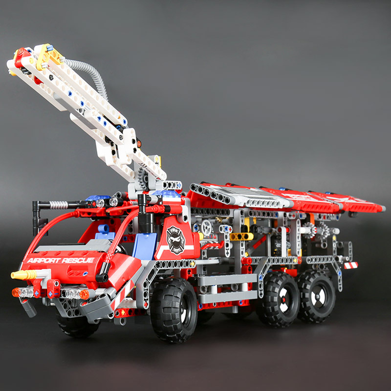 2017 Hot Lepin 20055 Genuine Technic Mechanical The Rescue Vehicle Set Children Educational Building Blocks Bricks 42068 the rescue