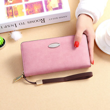 2019 New Womens Wallet Zipper Large Capacity Long Paragraph Clutch Bag MultiFunction Mobile Phone Purse