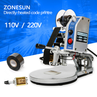ZONESUN New DY Rotogravure Printing Machine Expiry Date Time Serial Batch Number Batch Number Inkjet Printer