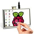 Elecrow ЖК-дисплей 5 дюймов Raspberry Pi 3 дисплей сенсорный экран HDMI 800x480 5