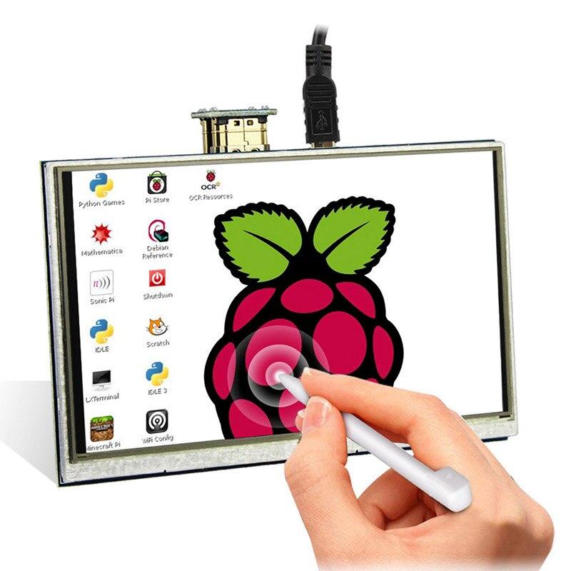 Elecrow LCD 5 pouces Raspberry Pi 3 écran tactile HDMI 800x480 5