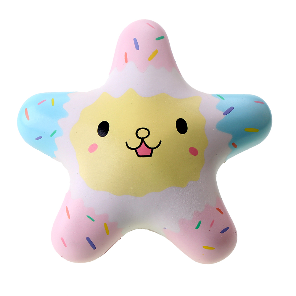 Squishy Toys Pictures : Vlampo Kawaii Cute Scented Starfish Squishies Slow Rise Squeeze Toys Retail 1pc Licensed ...