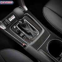 Per Subaru Forester accessori 2013-2018 Car Styling Volante In Fibra di Carbonio Pannello di Marcia Maniglia Della Porta Presa Interna Sticker