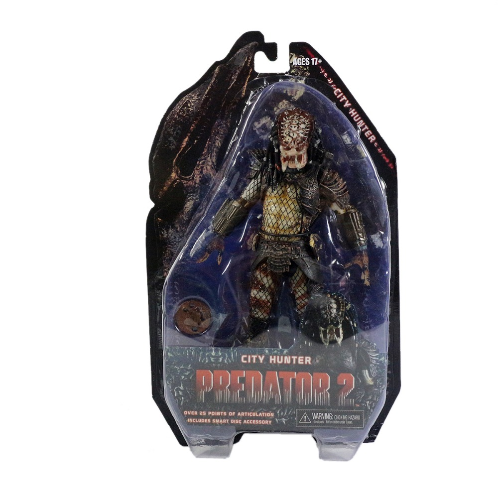 "<font><b>PREDATOR</b></font> 2 <font><b>Series</b></font> <font><b>4</b></font> <font><b>City</b></font> <font><b>Hunter</b></font> 8"" <font><b>Action</b></font> <font><b>Figure</b></font> Free Shipping"
