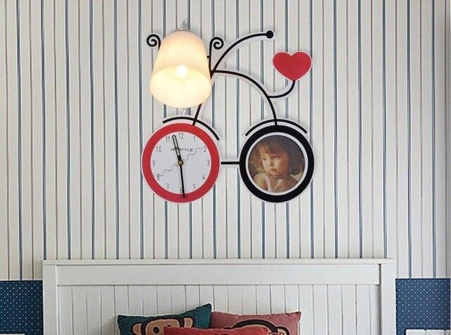 Il trasporto libero ha condotto bambini lampada da parete