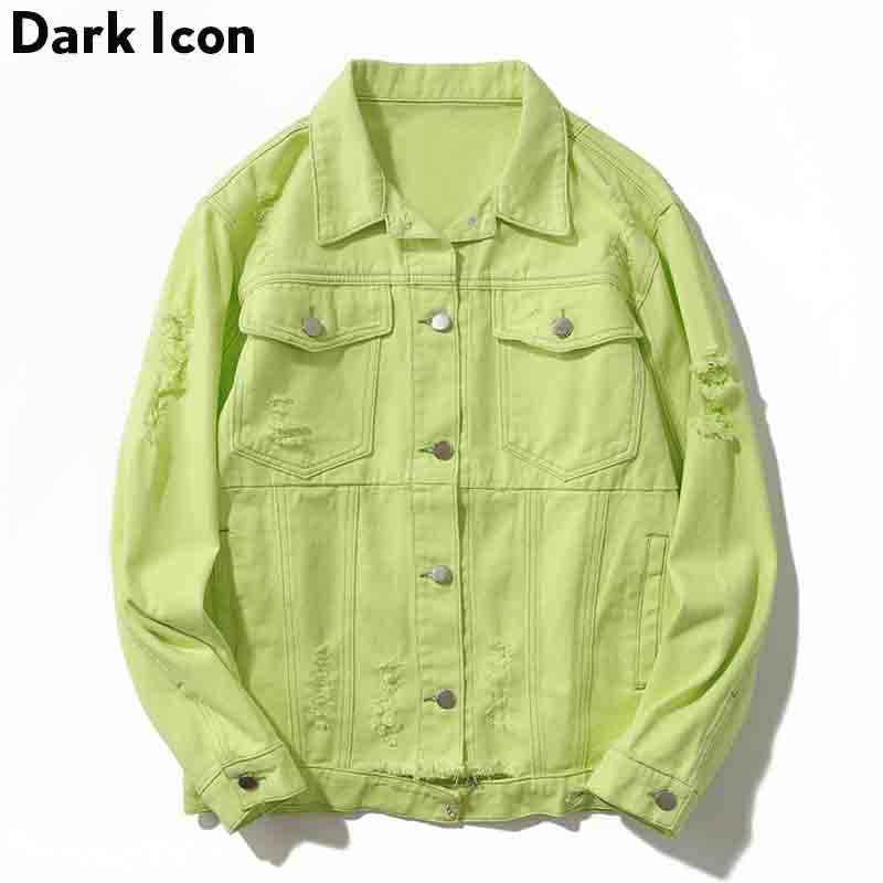 Detail Feedback Questions About 2018 Autumn Bomber Jacket Men Denim