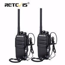 2 unids Retevis RT24 Sin Licencia de Radio PMR Walkie Talkie 0.5 W 16CH UHF 446 PMR446 Scrambler Radio de Jamón Hf Transceptor Comunicador