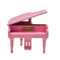 YST custom belettering hout piano doos, doos muziek creatieve verjaardagscadeau voor mannen en vrouwen vrienden GRATIS VERZENDING