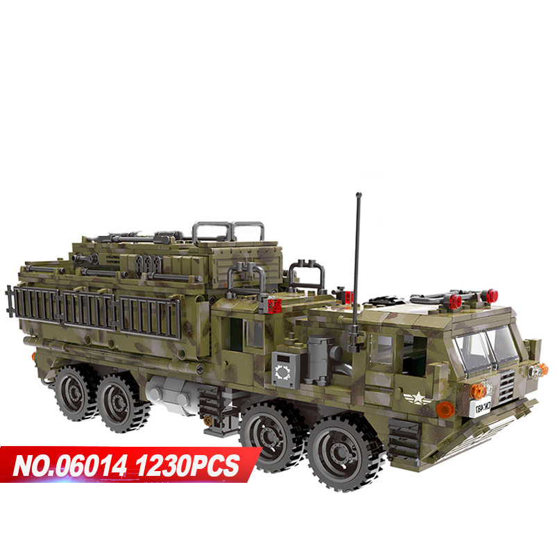 цены Modern military ww2 Traversing the battlefield Scorpio heavy truck moc building block model army figures bricks toys collection