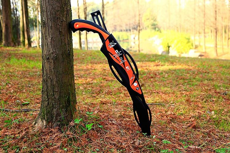 Couteau de coupe d'arbre de sciage de main de jardinage avec la gaine