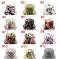 El envío gratuito! 2015 Nuevo 5 unids/lote primavera y el verano las mujeres Playa del sombrero del Sol Casquillo de la pesca sombreros 33 Colores Cubo sombreros Para Elegir