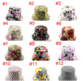 Free shipping!2015 New 5pcs/lot spring and summer women hat Beach Sun Cap fishing hats 33 Colors Bucket Hats For Choose