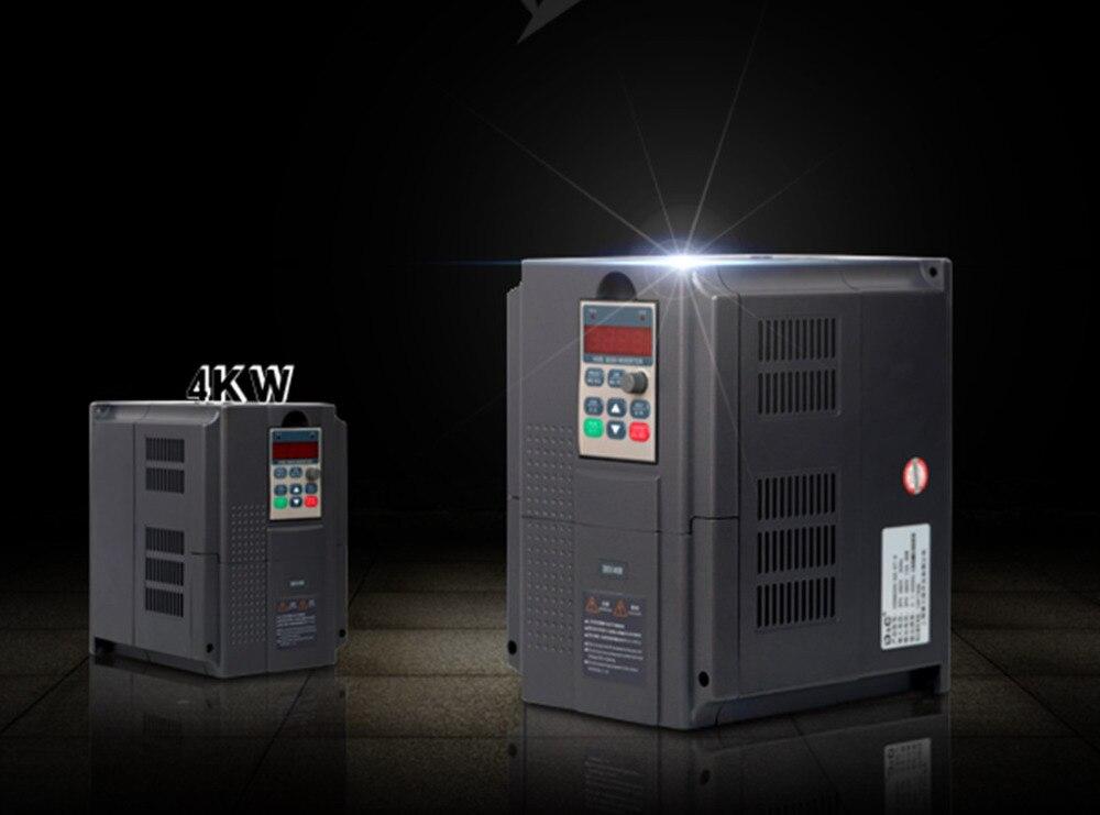 HXB8000 G3 4T 4 векторный инвертор 3 фазы 4 кВт/380 В высокопроизводительный универсальный векторный водяной насос контроллер скорости вентилятора