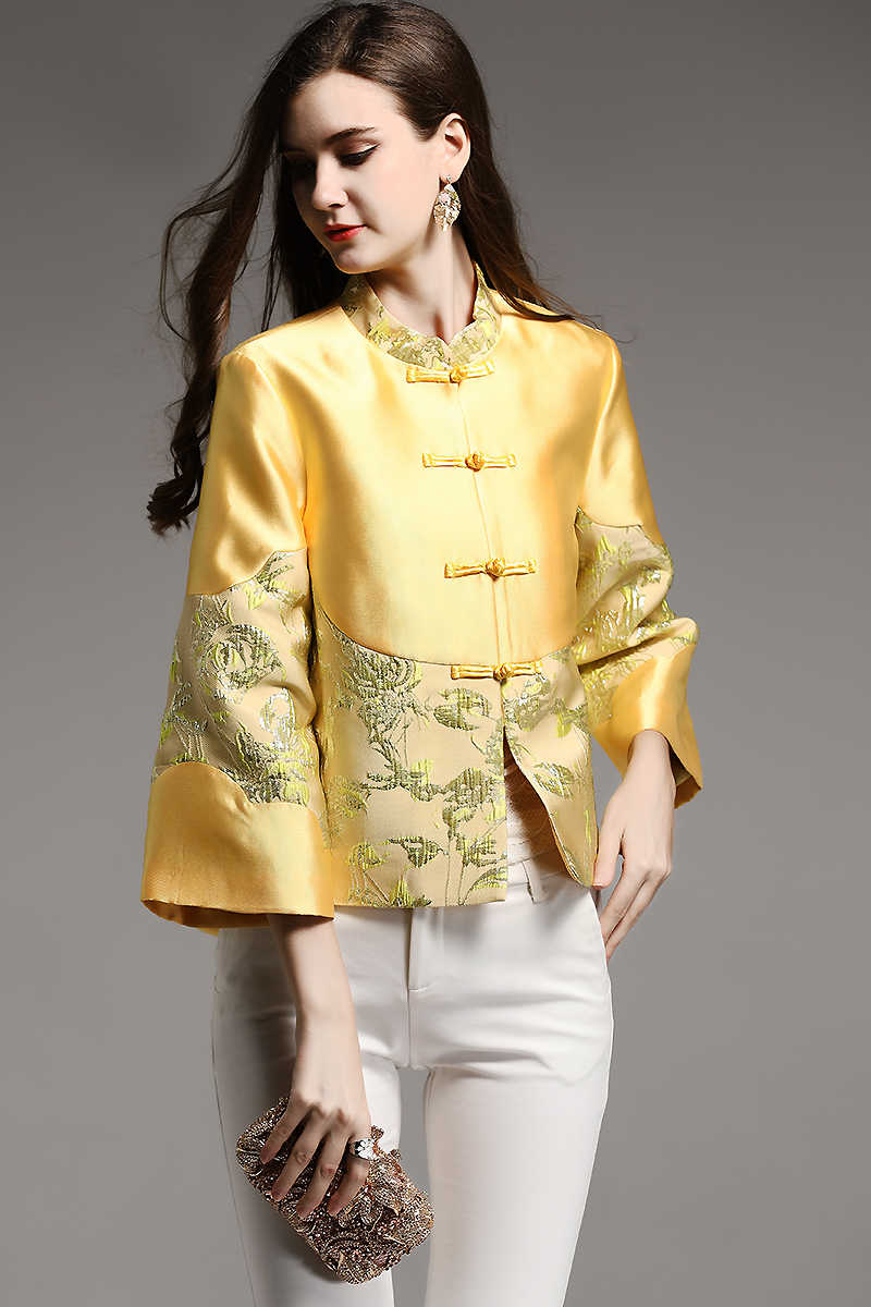 d04c45d76eafc Traditional embroidery dragon chinese women tang costume elegant short  mandarin collar shirt hanfu antique chinese silk