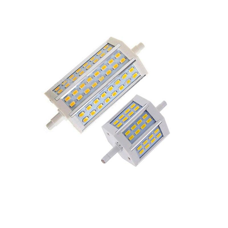 R7S LED Lamp SMD5730 10W 25W R7S 78mm 118mm LED corn Light LED R7S spotlight Bulb Energy Saving Replace Halogen Lamp