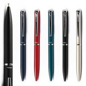 Image 4 - Pentel BLN2005เจลหมึกRollballปากกาแห้งเร็วโลหะเข็มสีดำ0.5มม.หมุนเติมสำนักงานธุรกิจ
