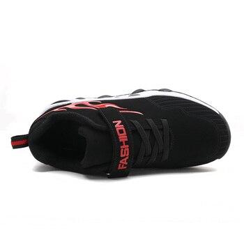 Basketballschuhe Für Jungen | 2018 Neue Stil Air Sohle Basketball Schuhe Für Kinder Jungen Mädchen Im Freien Sneaker Kinder Sport Schuhe PU Leder Kissen Trainer
