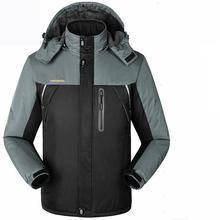 2017 Hiking Jacket Plus Size 9XL Mens Ski Coats Waterproof Wind Stopper Snow Jacket Thick Warm Coat Winter Skiing Jacket Women