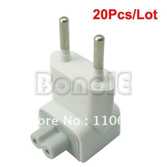 Holiday Sale Wholesale 20Pcs/Lot New EU AC Plug for Apple iBook/MacBook Pro Power Adapter  1266