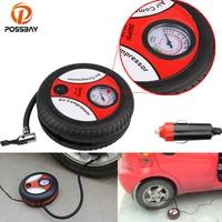 POSSBAY Portable 12V 260 PSI Car Tire Inflator Pump Auto Car Pump Air Compressor Motor Air Inflator Bicycle Accessories