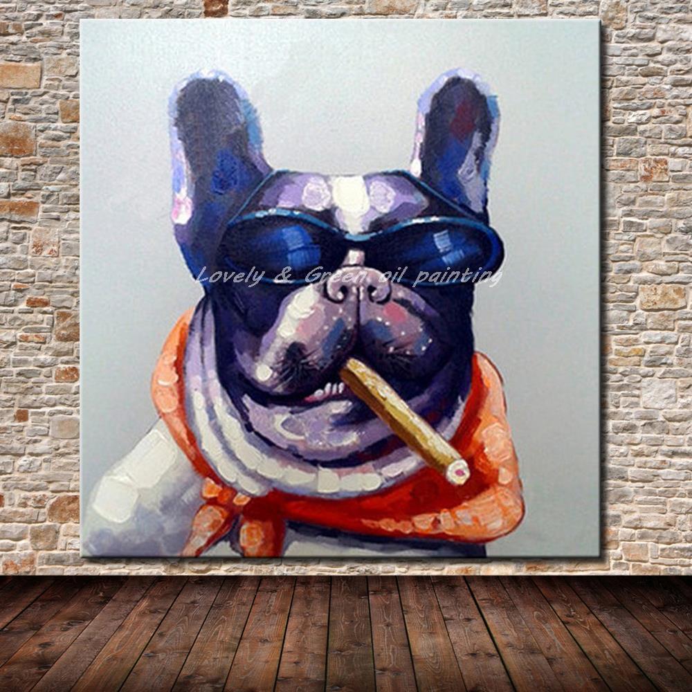 ᑎ‰No Marcos pintado a mano del arte moderno de la pared cuadros ...