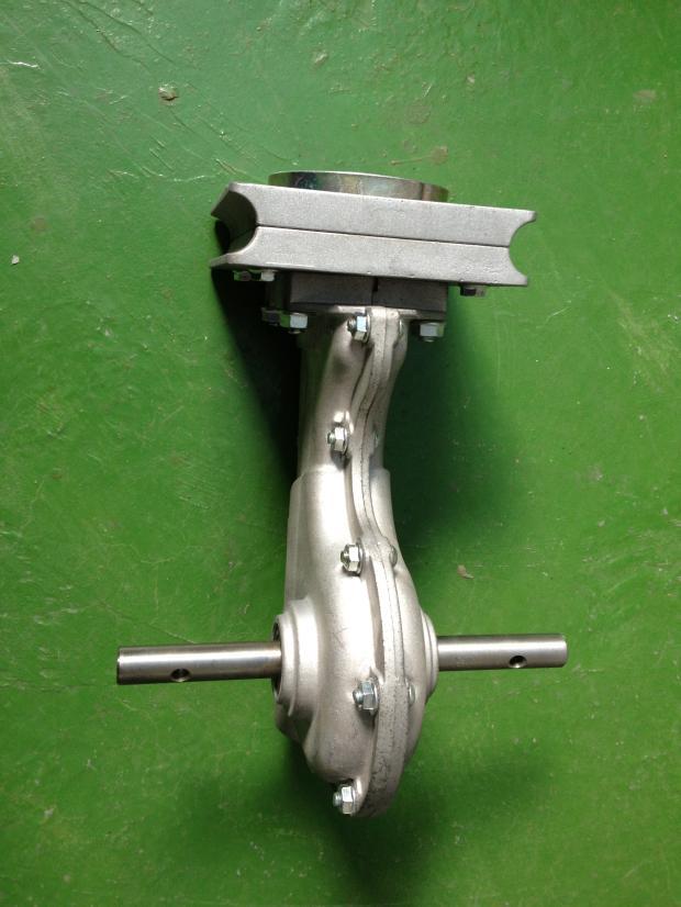 Tiller Gearbox rotary tiller bronze worm gear ratio: 1:40 on
