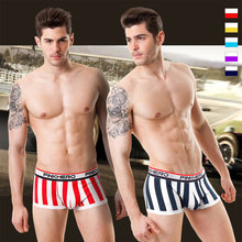 Hot Fashion Sexy Cotton Men's Underwear,4 Colors High Qualit Shorts Mens Comfortable Male Panties Underwear