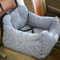 Pet Dog Carrier Car Seat Pad With Safety Belt Cat Puppy Bag Safe Carry House Dog Seat Bag Basket Pet Car Travel Product