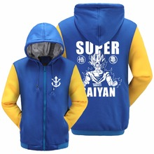 Dragon Ball Z Son Goku Fleece Hoodie