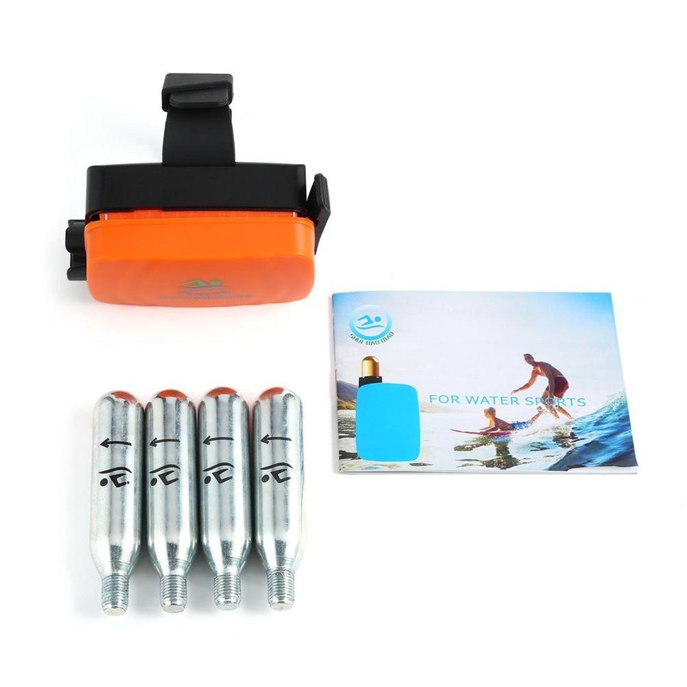 Portable Lifesaving Anti Drowning Bracelet Aid Lifesaving Device Floating Wristband Outdoor Swim Surf Self Rescue Safe Device in Life Buoy from Sports Entertainment