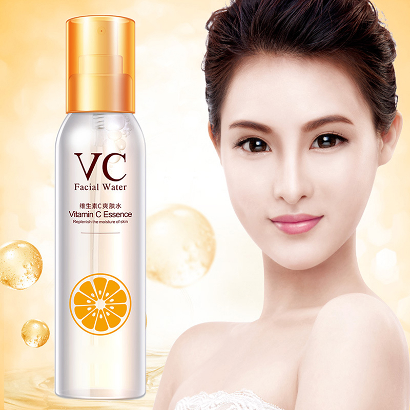 Face Skin Care Vitamin C Toner Hydrating Moisturizing VC Spray Moisturizing Anti-aging Smoothing Anti-wrinkle Cosmetics