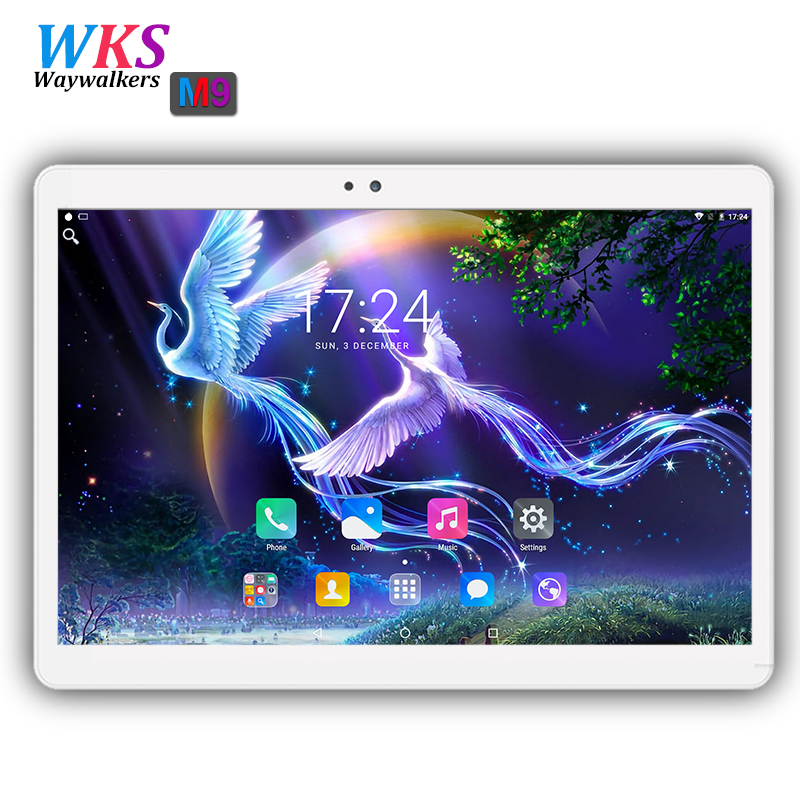 где купить 10.1 Inch tablet pc 3G 4G Lte Android 7.0 Octa Core 4GB RAM 32/64GB ROM IPS 1920*1200 GPS WIFI Bluetooth Smart tablets 10 10.1 дешево