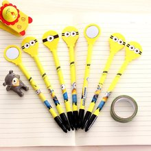 10 pcs South Korean creative stationery and lovely cartoon Minions gel pen  student award