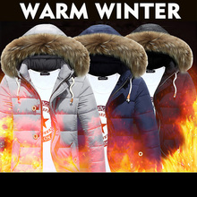 Brand New Jackets Warm Winter Men Cotton Down Jacket Men's Casual Slim Thick Jacket Coat Fashion Style Down Coat Large size XXL