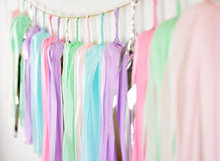Pastel Tassel Garland,Pink Mint Purple Garland, Unicorn Tassels, Party, Wedding Birthday Bunting 1112