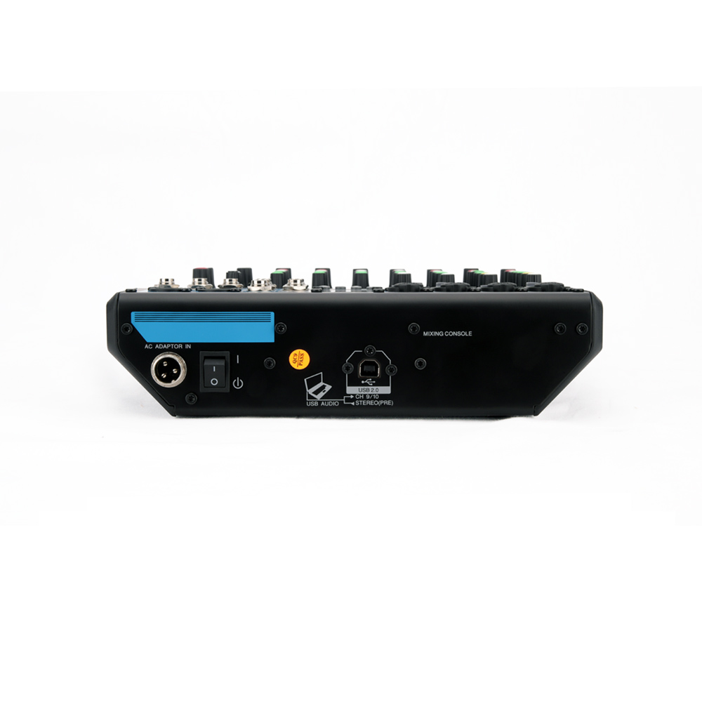 G Mark Mg10mp3 Pemium 10 Input Mixer Console With Mic Preamps Single Transistor Audio Channel 4 Microphones Line Inputs Mono 3 Stereo D Pre Talk Reverse Circuit Knob