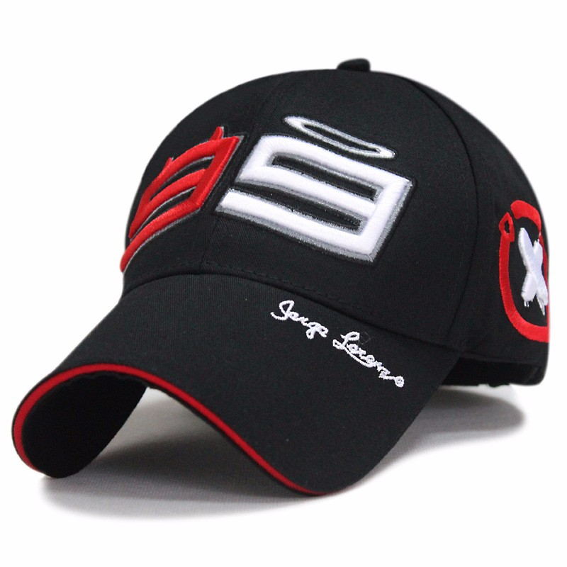 Racing 99   Cap   MOTO GP Jorge Lorenzo Embroidery Cotton   Baseball     Cap   Motorcycle   Cap   Hats Men Panama Sport Hat Racing Hats