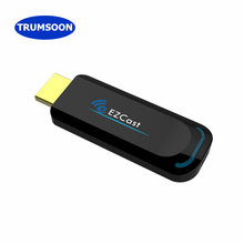 цена на TRUMSOON HDMI Dongle TV Stick Wireless WiFi Display Receiver EZcast 2.4G 5G Anycast Miracast 1080P for Android iOS Phones to TV