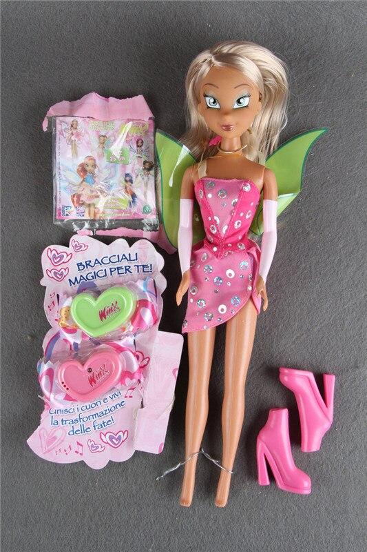 Ursprünglichen Winx club Flora Magie Trendy Schöne mädchen lose einzel Puppe Sammlung Spielzeug