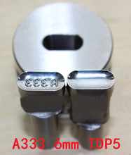 New A333 Stamp Punch Die Mold Die Stamping Mold for TDP-5 Tablet Press Free Shipping