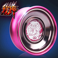 2016 fierce Beacon Professional Butterfly Metal Yoyo diabolo Aluminum High Precision Game Special Props Dead Sleep Type for Kids