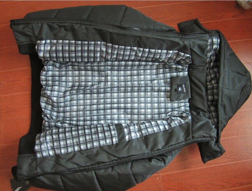 Mwxsd yeni Marka kış sıcak Ceket erkekler için kapüşonlu palto - Erkek Giyim - Fotoğraf 4