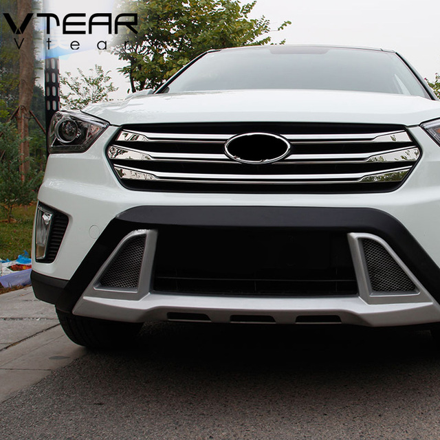Aliexpress.com : Buy Vtear For ix25 hyundai creta accessories grille front Racing Grille Cover ...