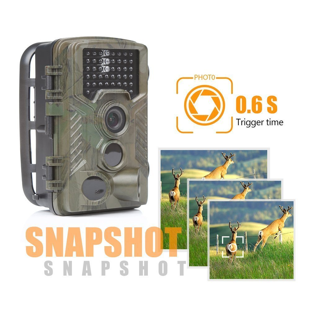 H881 Infrared Hunting Camera Professional HD Waterproof Detection Surveillance Camera Wide Angle Wildlife Photograph Equipment professional 72mm 0 45x wide angle