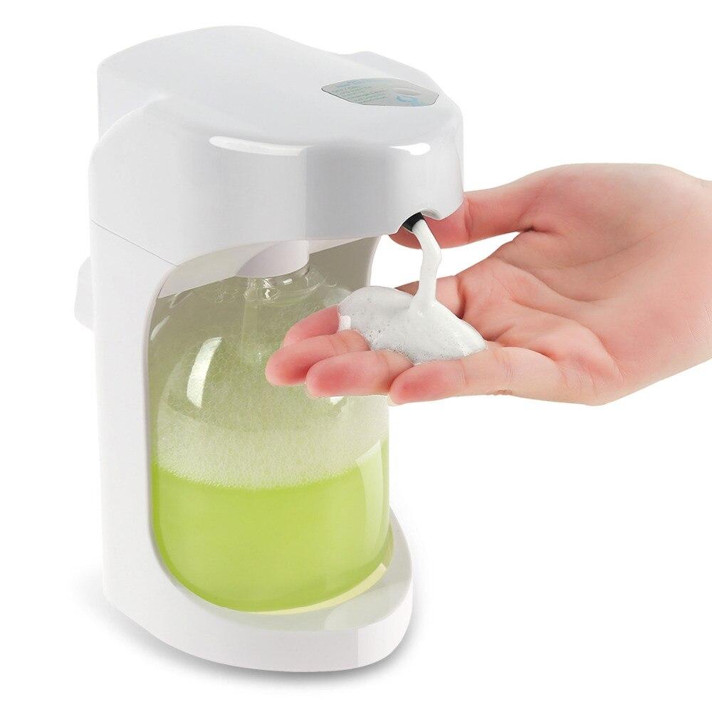 Automatische Seifenspender Smart Sensor Touchless Sanitizer Dispensador für Küche Bad